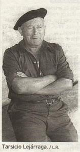 Tarsicio Lejárraga, guardián de Suso