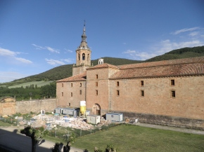Iglesia del monasterio de Yuso. San Millán de la Cogolla