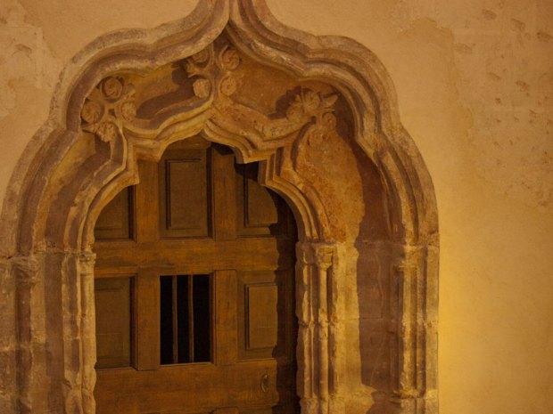 Iluminación del monasterio de Yuso, en San Millán de la Cogolla. Inaugurada el 23 de marzo 2011.